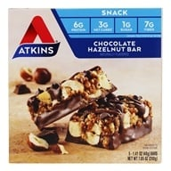 Atkins Nutritionals Inc. - Day Break Bar Chocolate Hazelnut - 5 Bars, from category: Diet & Weight Loss