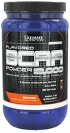 Ultimate Nutrition - Platinum Series Flavored BCAA Powder 12,000 Branched Amino Acid Formula Orange 60 Servings - 457 Grams