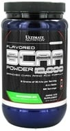 Ultimate Nutrition - Platinum Series Flavored BCAA Powder 12,000 Branched Amino Acid Formula Watermelon 60 Servings - 457 Grams