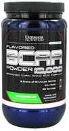Image of Ultimate Nutrition - Platinum Series Flavored BCAA Powder 12,000 Branched Amino Acid Formula Watermelon 60 Servings - 457 Grams