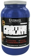 Ultimate Nutrition - Platinum Series Protein Isolate Chocolate Creme - 3 lbs. (099071007803)