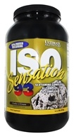 Ultimate Nutrition - Iso Sensation 93 Cookies N Cream - 2 lbs., from category: Sports Nutrition