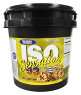 Ultimate Nutrition - Iso Sensation 93 Chocolate Fudge - 5 lbs., from category: Sports Nutrition
