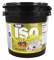 Ultimate Nutrition - Iso Sensation 93 Cookies N Cream - 5 lbs., from category: Sports Nutrition