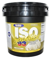 Image of Ultimate Nutrition - Iso Sensation 93 Vanilla - 5 lbs.