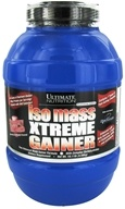 Image of Ultimate Nutrition - Platinum Series Iso Mass Xtreme Gainer Strawberry - 10.11 lbs.