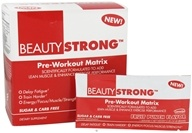 BeautyFit - BeautyStrong Pre-Workout Matrix Fruit Punch - 25 Packet(s)