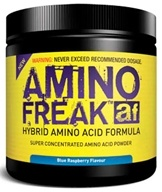 PharmaFreak Technologies - Amino Freak Hybrid Amino Acid Formula - 45 Servings Blue Raspberry - 192 Grams CLEARANCE PRICED