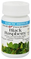 Eclectic Institute - Black Raspberry 300 mg. - 50 Vegetarian Capsules - $7.99