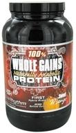 Image of BioRhythm - 100% Whole Gains Naturally Anabolic Protein Sweet Mango - 2.47 lbs.