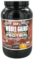 BioRhythm - 100% Whole Gains Naturally Anabolic Protein Sweet Mango - 2.47 lbs.