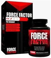 Image of Force Factor - Pre-Workout Nitric Oxide Booster - 120 Capsules