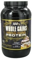 BioRhythm - 100% Whole Gains Naturally Anabolic Protein Vanilla Delight - 2.47 lbs.