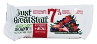Betty Lou's - Just Great Stuff Bar Organic Superberry Acai - 1.5 oz. - $1.69