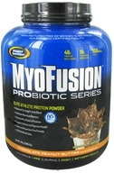 Gaspari Nutrition - MyoFusion Probiotic Series Protein Chocolate Peanut Butter - 5 lbs.