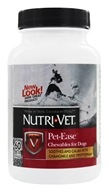 Nutri-Vet - Pet-Ease For Dogs Liver - 60 Chewables, from category: Pet Care