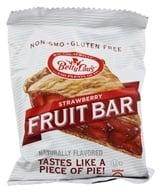 Fruit Bars Gluten-Free Strawberry - 2 oz. by Betty Lou's