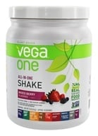 Vega - Vega One All-In-One Nutritional Shake Mixed Berry - 15 oz.