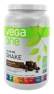 Vega - Vega One All-In-One Plant Based Protein Powder Chocolate - 30.9 oz.