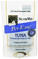 Nutri-Vet - Pet-Ease For Cats Soft Chews Tuna - 2.5 oz.
