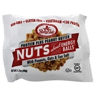 Betty Lou's - Nuts About Peanut Butter Protein Plus Energy Balls - 1.7 oz., from category: Health Foods