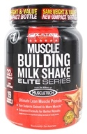 Six Star Pro Nutrition - Professional Strength Muscle Building Milk Shake Elite Series Triple Chocolate Fudge - 2 lbs. (631656701845)