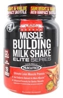 Six Star Pro Nutrition - Professional Strength Muscle Building Milk Shake Elite Series Triple Chocolate Fudge - 2 lbs. by Six Star Pro Nutrition