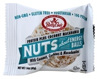 Betty Lou's - Nut Butter Balls with Plant Phytosterols Coconut Macadamia - 1.4 oz.