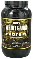 BioRhythm - 100% Whole Gains Naturally Anabolic Protein Swiss Chocolate - 2.47 lbs., from category: Sports Nutrition