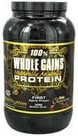 BioRhythm - 100% Whole Gains Naturally Anabolic Protein Swiss Chocolate - 2.47 lbs. - $38.99