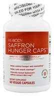 Image of ReBody - Hunger Caps Appetite Control Formula with Satiereal Saffron Extract - 60 Vegetarian Capsules