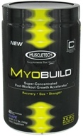 Image of Muscletech Products - MyoBuild Super Concentrated Post-Workout Growth Accelerator Grape 40 Servings - 0.71 lbs.