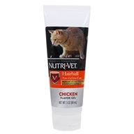 Nutri-Vet - Hairball Paw-Gel For Cats Chicken - 3 oz. by Nutri-Vet