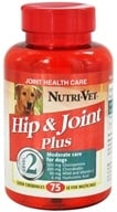 Nutri-Vet - Hip & Joint Plus Level 2 For Dogs Liver - 75 Chewables (669125247433)