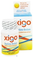 Xigo Health - Daytime Restore Caffeine Free - 60 Vegetarian Capsules CLEARANCE PRICED by Xigo Health