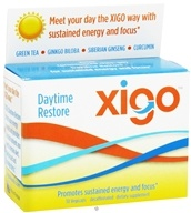 Xigo Health - Daytime Restore Caffeine Free - 30 Vegetarian Capsules CLEARANCE PRICED by Xigo Health