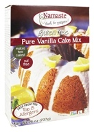 Namaste Foods - Gluten Free Vanilla Cake Mix - 26 oz., from category: Health Foods