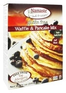 Namaste Foods - Gluten Free Waffle & Pancake Mix - 21 oz., from category: Health Foods