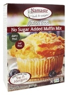 Namaste Foods - Gluten Free No Sugar Added Muffin Mix - 14 oz., from category: Health Foods