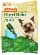 Nylabone - Nutri Dent Edible Dental Chews Mini Extra Fresh - 78 Chew(s) by Nylabone
