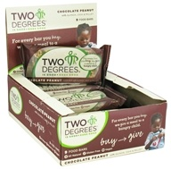 Two Degrees Foods - Nutrition Bar Chocolate Peanut - 1.6 oz. by Two Degrees Foods