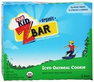 Clif Bar - Kid Z-Bar Organic Iced Oatmeal Cookie - 6 Bars (722252194305)