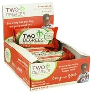 Two Degrees Foods - Nutrition Bar Apple Pecan - 1.6 oz. by Two Degrees Foods