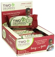 Two Degrees Foods - Nutrition Bar Cherry Almond - 1.6 oz. by Two Degrees Foods