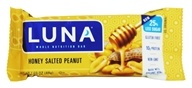 Clif Bar - Organic Luna Nutrition Bar For Women Honey Salted Peanut - 1.69 oz.