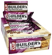 Clif Bar - Builder's Protein Crisp Bar Chocolate Chip - 2.24 oz. by Clif Bar