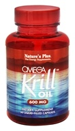 Image of Nature's Plus - Omega Krill Oil 600 mg. - 60 Capsules