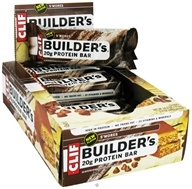 Clif Bar - Builder's Protein Crisp Bar S'Mores - 2.4 oz., from category: Sports Nutrition