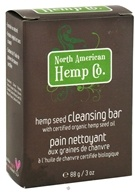 North American Hemp Company - Hemp Seed Cleansing Bar - 3 oz.