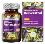 ResVitale - Resveratrol 250 mg. - 60 Vegetarian Capsules, from category: Nutritional Supplements